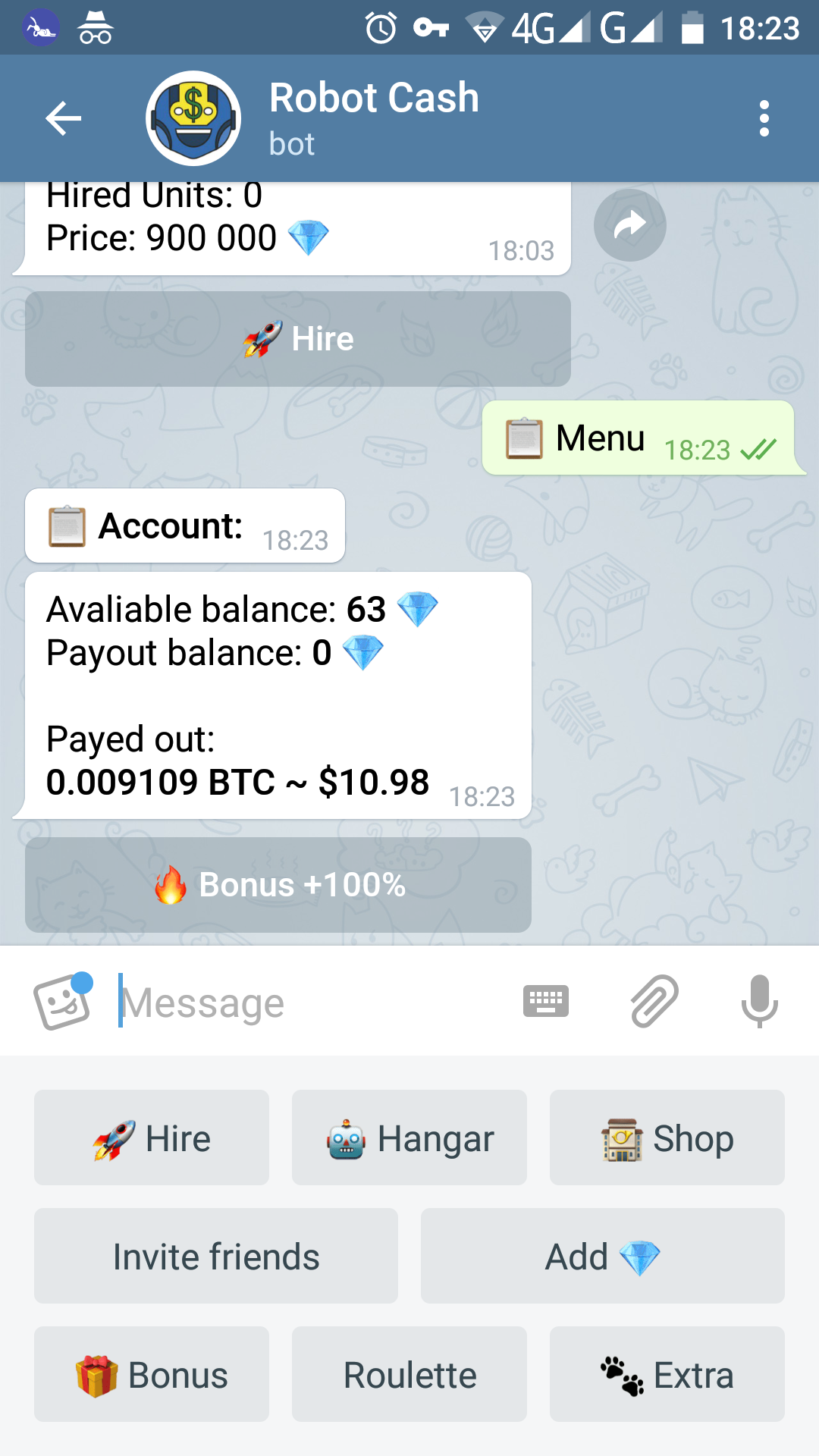 btc cloud mining bot telegram