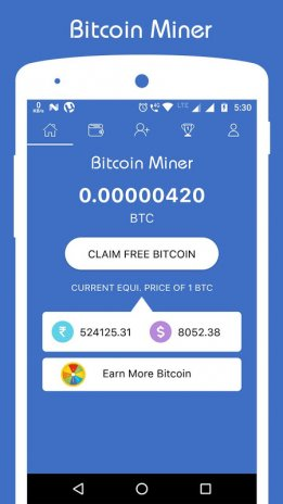 bitcoin android miner apk)